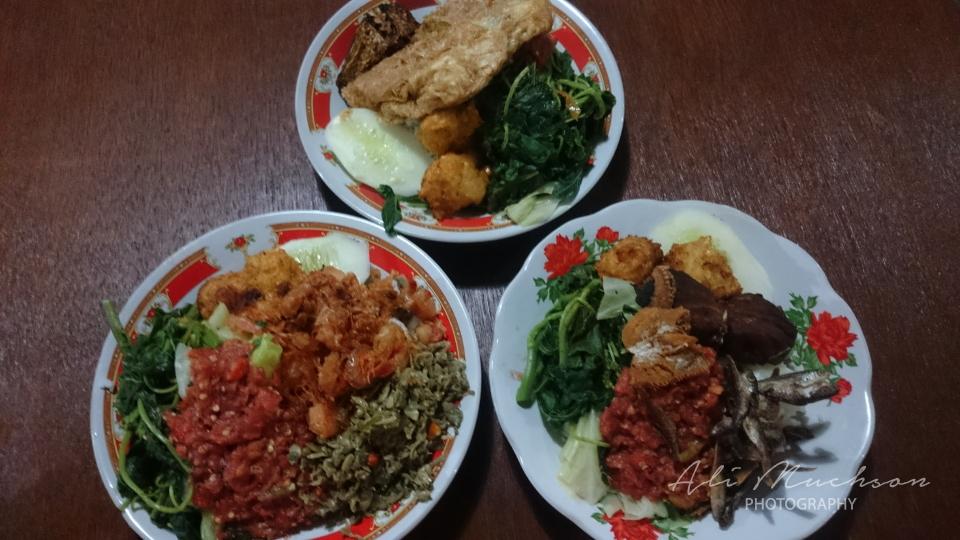 Nasi Tempong Banyuwangi