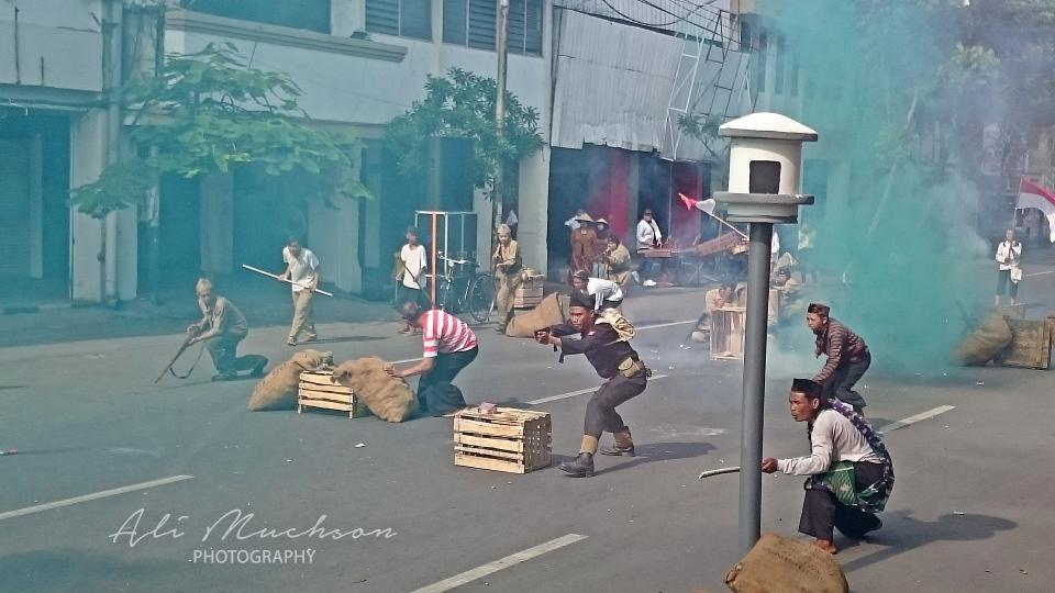 Pertempuran Mulyorejo Surabaya - Roodebrug Soerabaia