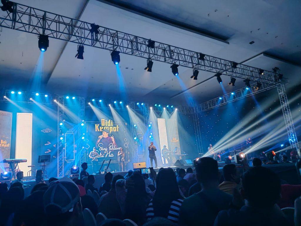 "Konser Didi Kempot ""Sang Pahlawan Sakit Hati"" di Dyandra Surabaya, 5 Desember 2019 (Foto Yudhistira B. Permana)"