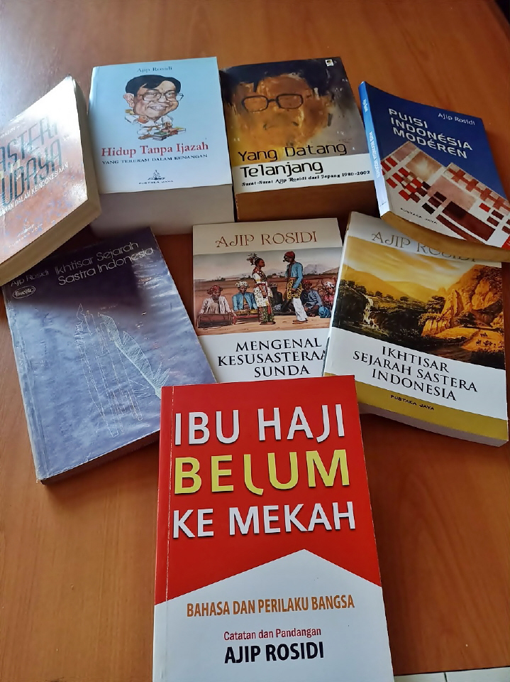 Karya Ajip Rosidi - Koleksi Chamim R. Irsyad, Dr.