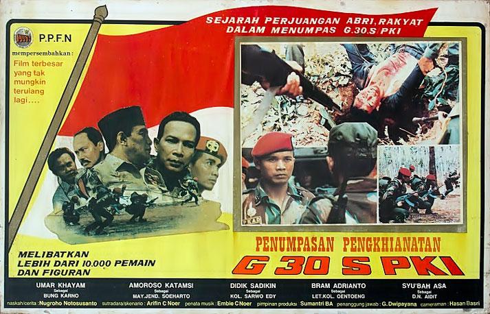Poster film Pengkhianatan G30S/PKI