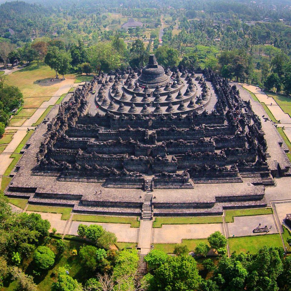 Candi Borobudur (Foto @barrykusuma)