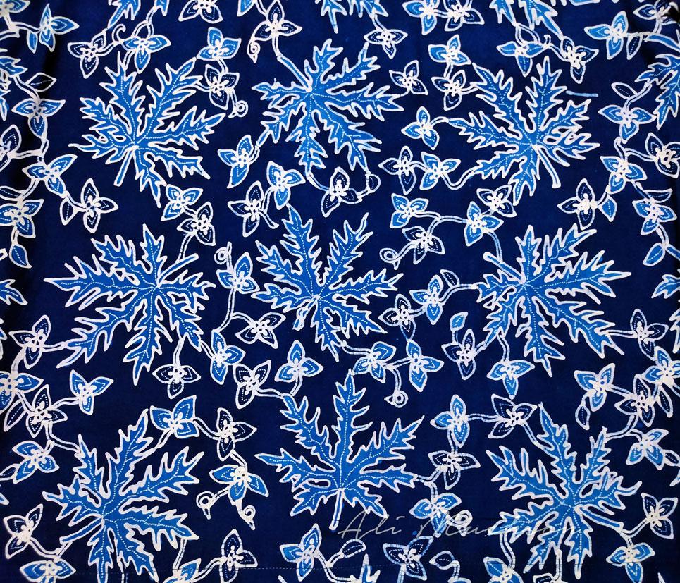Batik Tulis Motif Daun