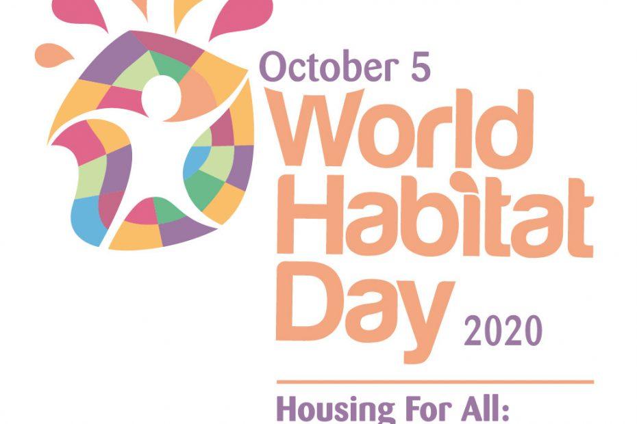 The 2020 World Habitat Day logo. (Handout UN-Habitat)
