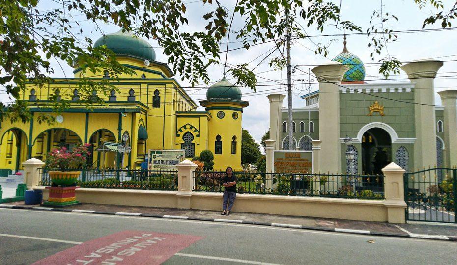 Makam Sultan Syarif Kasim II, di Siak Sri Indrapura, Riau