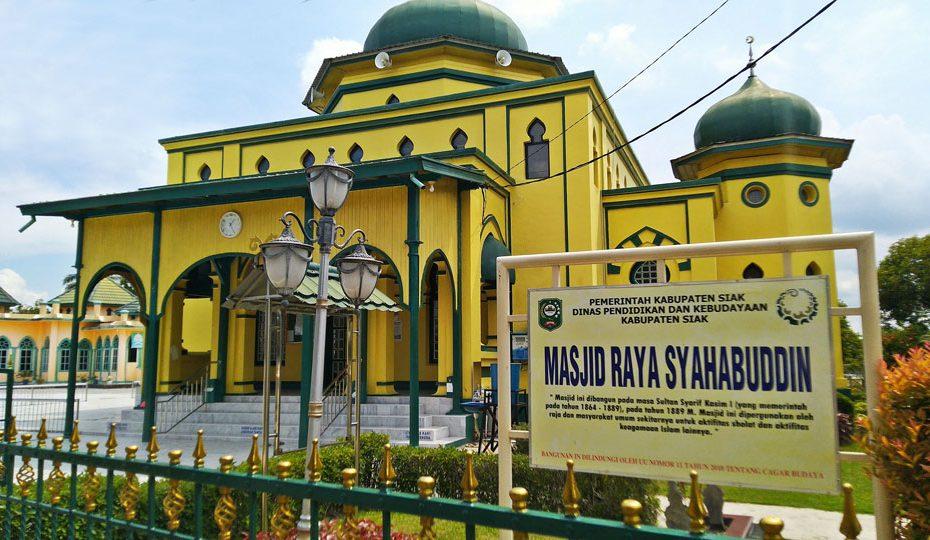 Masjid Raya Syahabuddin Kabupaten Siak, Provinsi Riau