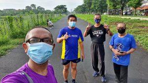 Kelompok Pejalan Kaki (KPK) Osigawa MERR : Sehat Sampai di Ujung Usia