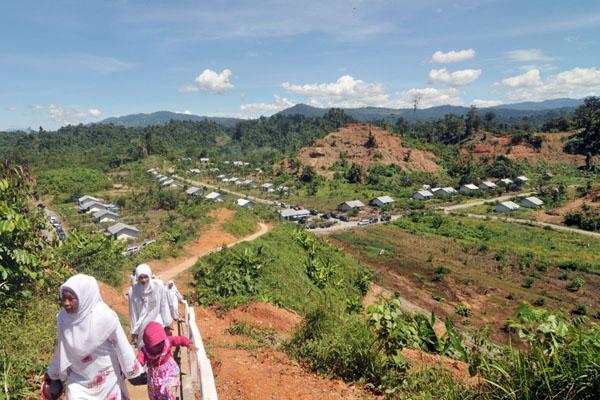 Ilustrasi permukiman transmigrasi - AntaraBasri Marzuki