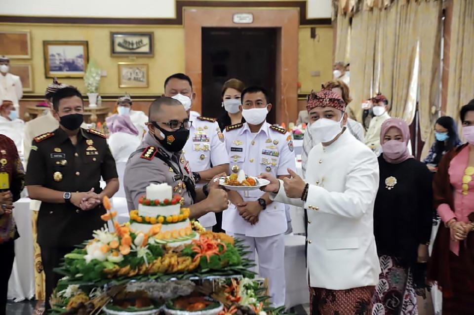 Peringatan Ke-728 Hari Jadi Kota Surabaya, 31 Mei 2021
