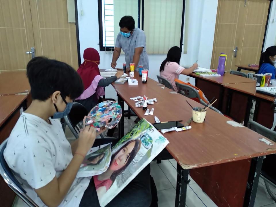 Ini Aktivitas Pelajar Surabaya Peringati Hardiknas 2021