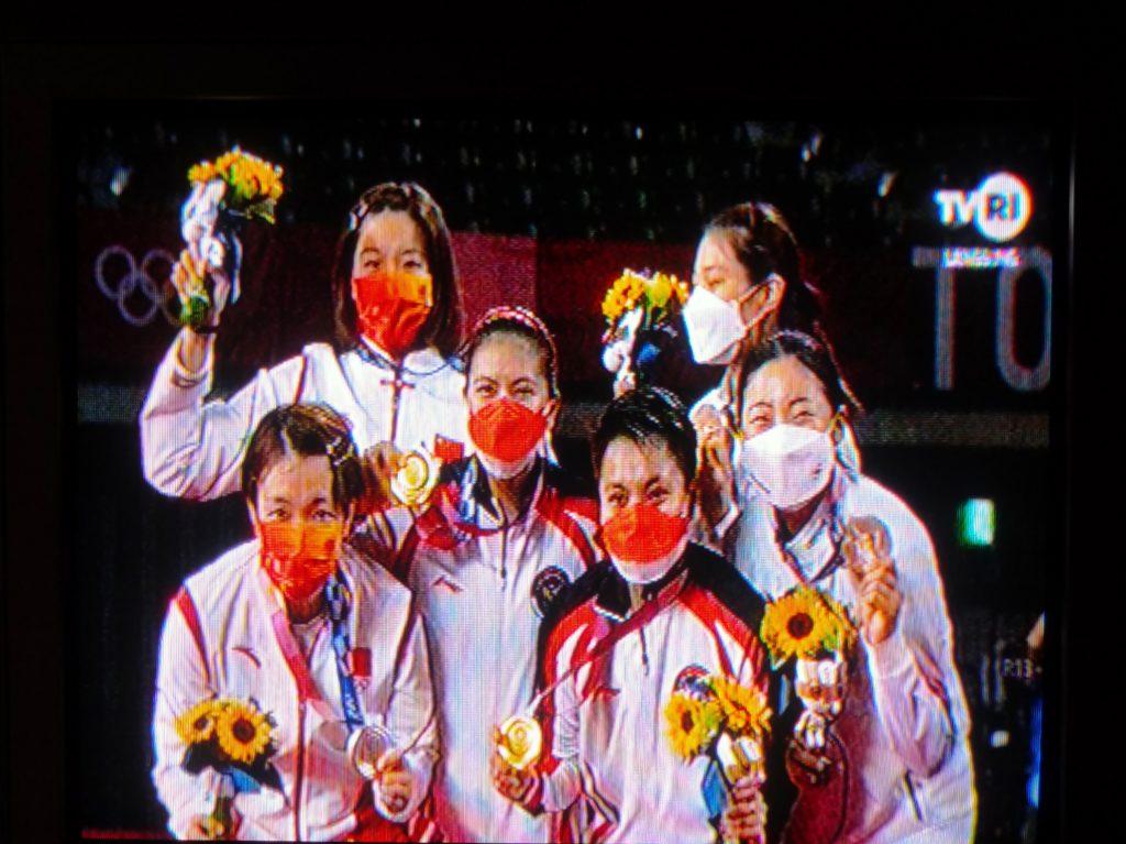 Greysia Polii - Apriyani Rahayu Boyong Medali Emas Olimpiade Tokyo 2020