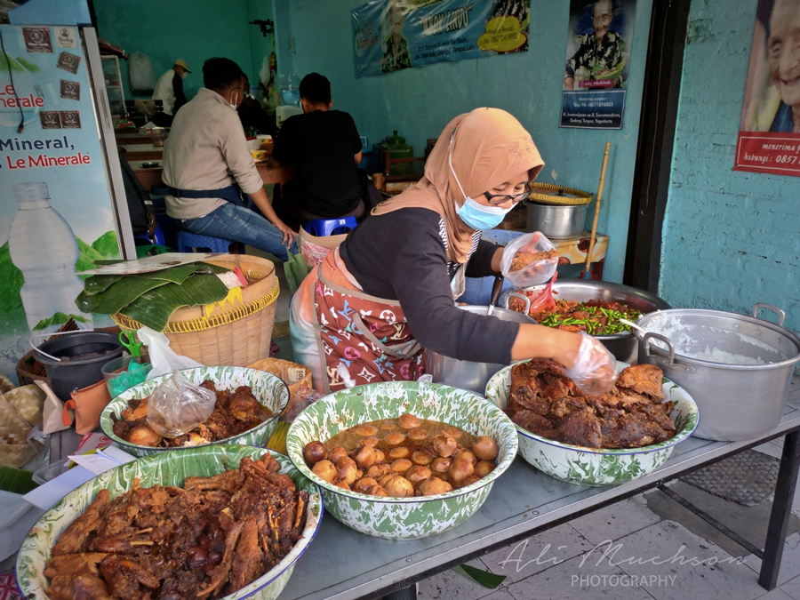 Gudeg Mbok Lindu Yogyakarta